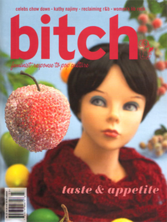 Bitch (magazine) - bitch, cover from the Winter 2004 issue
