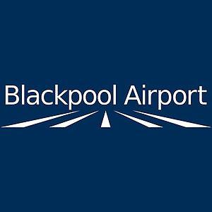 Blackpool Airport - Image: Blackpool Airport logo