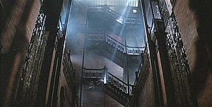Bradbury Building - The Bradbury Building in Blade Runner