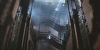 Bradbury Building - The Bradbury Building in Blade Runner