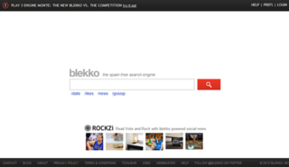 blekko web search engine