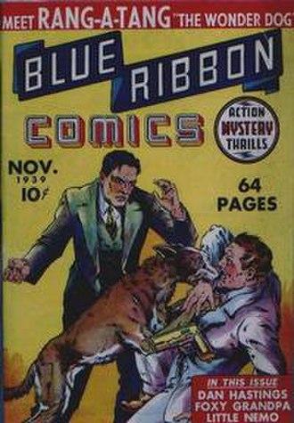 Blue Ribbon Comics - Image: Blue Ribbon Comics 1