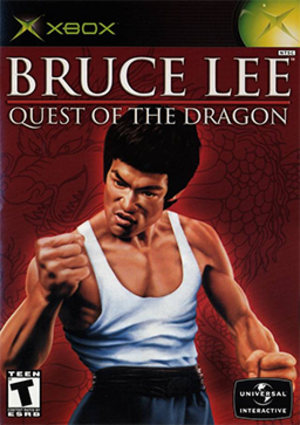 Bruce Lee: Quest of the Dragon - Cover art