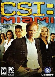 CSI: Miami box art