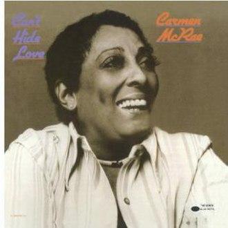 Can't Hide Love (album) - Image: Carmen Cant Hide Love