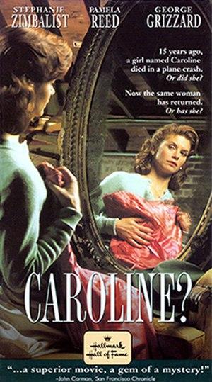 Caroline? - VHS cover