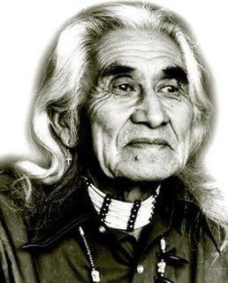 Chief Dan George Chief of the Tsleil-Waututh Nation