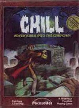 Chill (role-playing game) - Chill cover, Pacesetter Edition