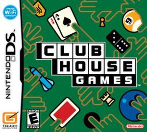 Clubhouse Games - North American cover art