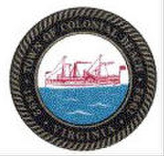 Colonial Beach, Virginia - Image: Colonial Beach Town Seal