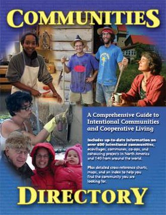 Communities Directory - Cover of printed Directory, 2005