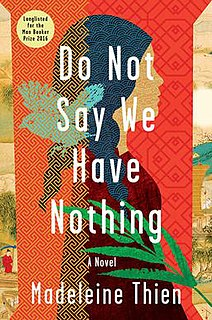 <i>Do Not Say We Have Nothing</i> book by Madeleine Thien