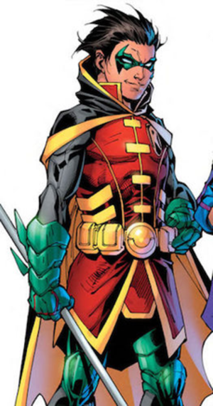 Damian Wayne - Damian Wayne in DC Rebirth; art by Jim Lee, Scott Williams, and Lex Sinclair