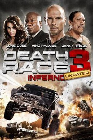 Death Race 3: Inferno - DVD cover