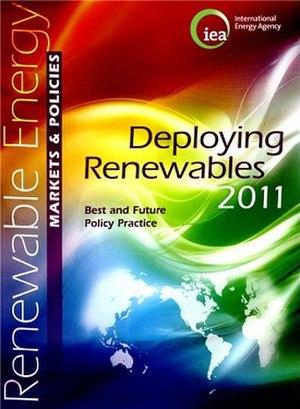 Deploying Renewables 2011 - Image: Deploying Renewables 2011