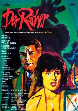 The Avenger (1960 film) - German film poster for The Avenger