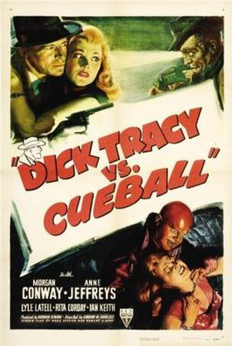 Dick Tracy vs. Cueball - Theatrical poster