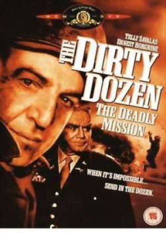 The Dirty Dozen: The Deadly Mission - UK DVD cover