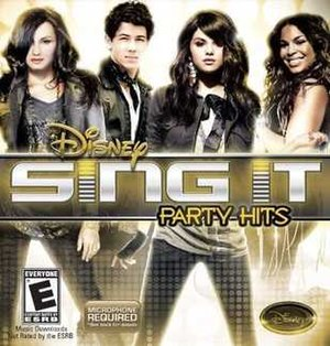 Disney Sing It: Party Hits - Image: Disney Sing It Party Hits Cover
