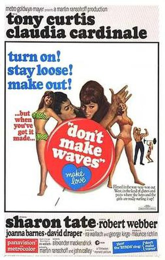 Don't Make Waves - original movie poster
