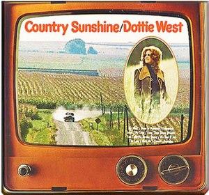 Country Sunshine (Dottie West album) - Image: Dottie West Country Sunshine