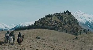 Rohan (Middle-earth) - Edoras in The Lord of the Rings film trilogy
