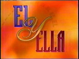 Él y ella (TV series) - The original El y Ella logo, used from 1995 to 1999.