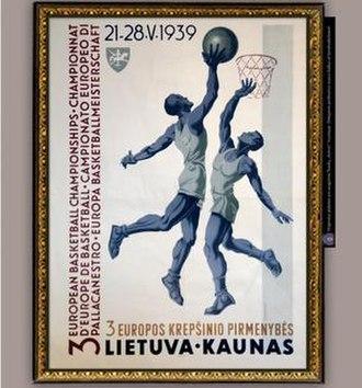 EuroBasket 1939 - Image: Euro Basket 1939 logo