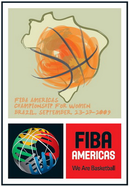 Official logo of the FIBA Americas Championship 2009