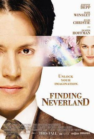 Finding Neverland (film) - Theatrical release poster