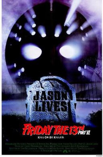 Friday the 13th Part VI: Jason Lives - Theatrical poster