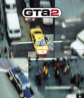 <i>Grand Theft Auto 2</i> open world action-adventure video game