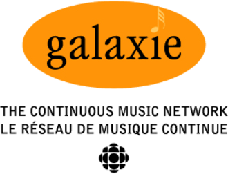 Stingray Music - Original logo of Galaxie (1997 - 2000). From 2000 - 2003, the orange circle was removed.