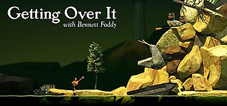 Getting Over It with Bennett Foddy - Image: Getting Over It with Bennett Foddy
