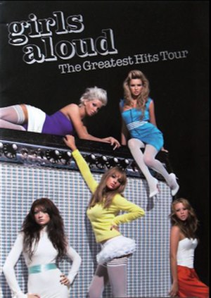 The Greatest Hits Tour (Girls Aloud) - Cover of tour programme
