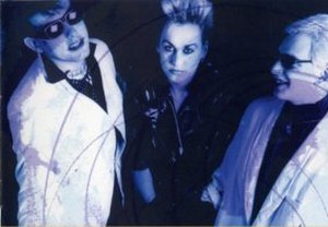 The Glove - (From left to right) Robert Smith, Jeanette Landray and Steven Severin