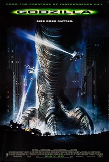 <i>Godzilla</i> (1998 film) 1998 film by Roland Emmerich