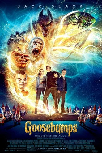 Goosebumps (film) - Theatrical release poster