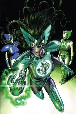 "Green Lantern Corps no. 22 ""The Curse of the Alpha-Lantern"", part two"