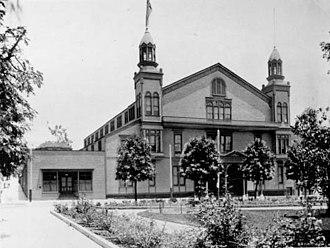 Hazard's Pavilion - Hazard's Pavilion  (demolished in 1906)