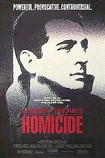 <i>Homicide</i> (1991 film) 1991 film by David Mamet