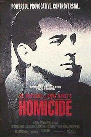 Homicide (1991 film) - Movie poster for Homicide