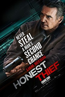 <i>Honest Thief</i> 2020 film directed by Mark Williams