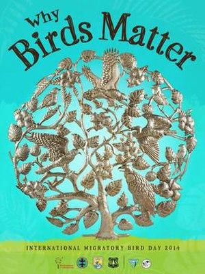 Bird Day - International Migratory Bird Day poster 2014
