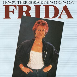 I Know There's Something Going On - Image: I Know There's Something Going On (Anni Frid Lyngstad single cover art UK version)