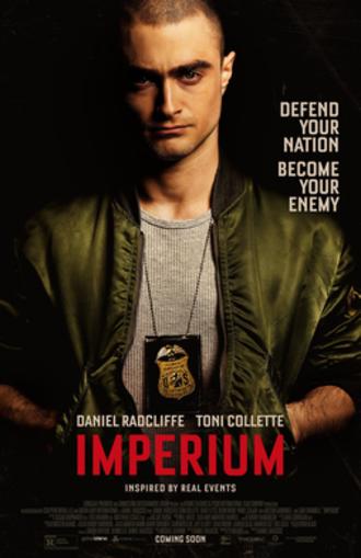 Imperium (2016 film) - Theatrical release poster
