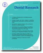 Indian Journal of Dental Research - Wikipedia