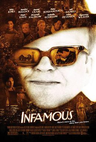 Infamous (film) - Theatrical release poster
