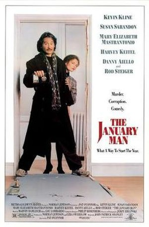 The January Man - Theatrical poster