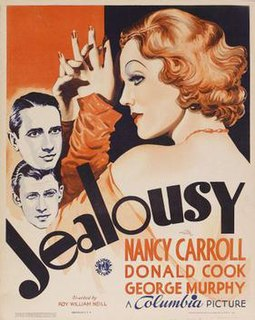 <i>Jealousy</i> (1934 film) 1934 American drama film directed by Roy William Neill